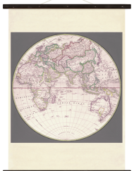 wallchart world map